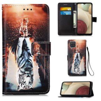 Plånboksfodral Samsung Galaxy A12 - Reflektion