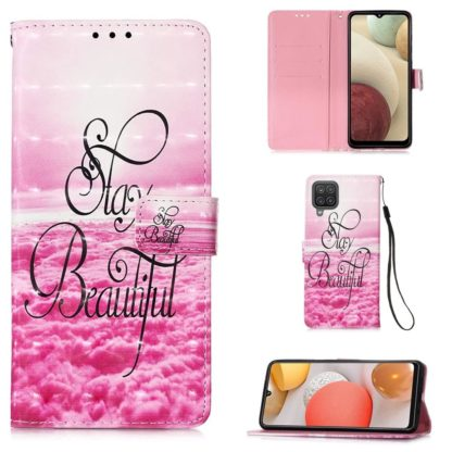 Plånboksfodral Samsung Galaxy A12 - Stay Beautiful