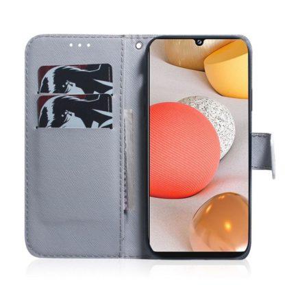 Plånboksfodral Samsung Galaxy A42 - Ugglor I Månsken