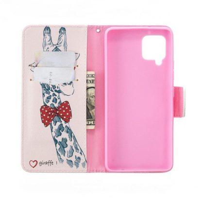 Plånboksfodral Samsung Galaxy A12 - Giraff