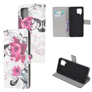 Plånboksfodral Samsung Galaxy A12 - Lotus