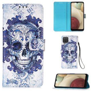 Plånboksfodral Samsung Galaxy A42 - Döskalle