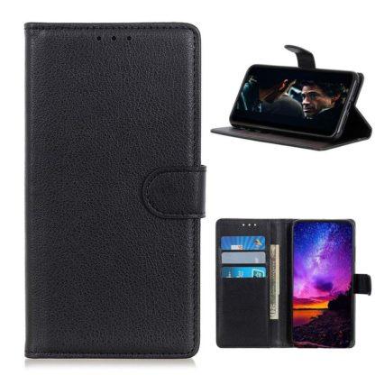 Plånboksfodral Samsung Galaxy A42 - Svart