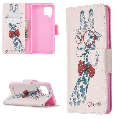 Plånboksfodral Samsung Galaxy A42 - Giraff