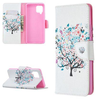 Plånboksfodral Samsung Galaxy A42 - Färgglatt Träd