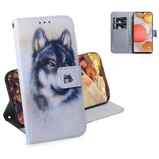 Plånboksfodral Samsung Galaxy A42 - Varg