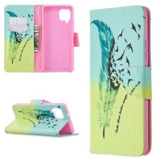 Plånboksfodral Samsung Galaxy A42 - Take These Broken Wings