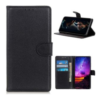 Plånboksfodral Samsung Galaxy A12 - Svart