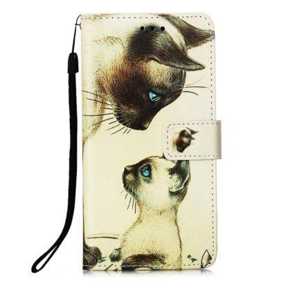 Plånboksfodral Samsung Galaxy A12 - Katter