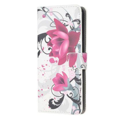 Plånboksfodral Samsung Galaxy S21 Ultra - Lotus