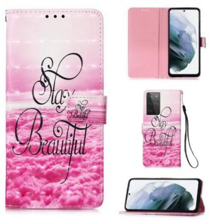 Plånboksfodral Samsung Galaxy S21 Ultra – Stay Beautiful