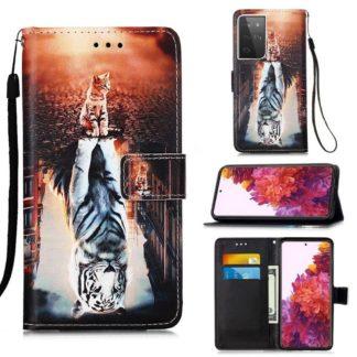 Plånboksfodral Samsung Galaxy S21 Ultra – Reflektion