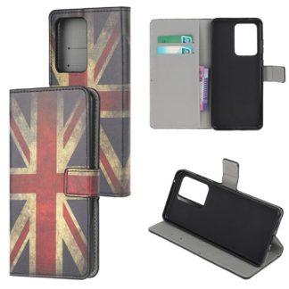 Plånboksfodral Samsung Galaxy S21 Ultra - Flagga UK