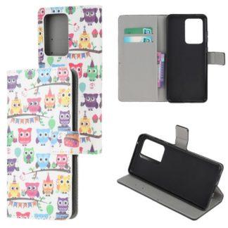 Plånboksfodral Samsung Galaxy S21 Ultra - Ugglor På Kalas