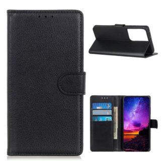 Plånboksfodral Samsung Galaxy S21 Ultra - Svart