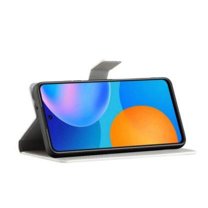 Plånboksfodral Huawei P Smart 2021 - Lila / Fjärilar
