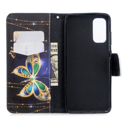 Plånboksfodral Huawei P Smart 2021 – Guldfjäril