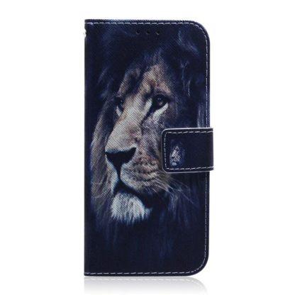 Plånboksfodral Huawei P Smart 2021 – Lejon