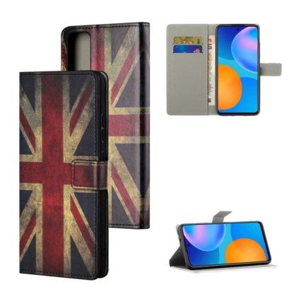 Plånboksfodral Huawei P Smart 2021 - Flagga UK