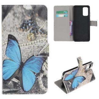 Plånboksfodral Samsung Galaxy A32 5G - Blå Fjäril