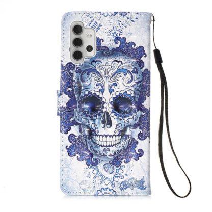Plånboksfodral Samsung Galaxy A32 5G – Döskalle