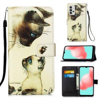 Plånboksfodral Samsung Galaxy A32 5G – Katter