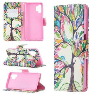 Plånboksfodral Samsung Galaxy A32 5G – Färgglatt Träd