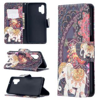 Plånboksfodral Samsung Galaxy A32 5G – Indiskt / Elefant