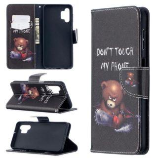 Plånboksfodral Samsung Galaxy A32 5G - Don't Touch My Phone