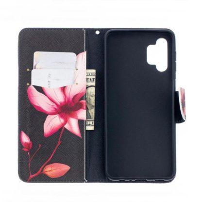 Plånboksfodral Samsung Galaxy A32 5G – Rosa Blomma