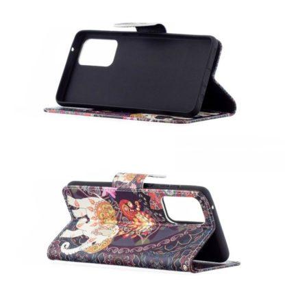 Plånboksfodral Samsung Galaxy A52 – Indiskt / Elefant