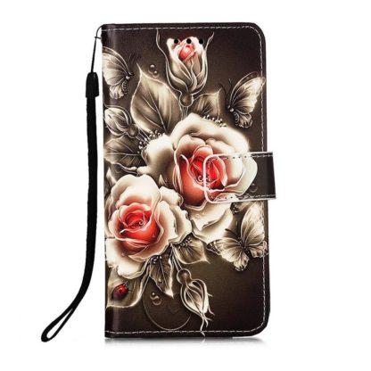 Plånboksfodral Samsung Galaxy A52 – Rosor
