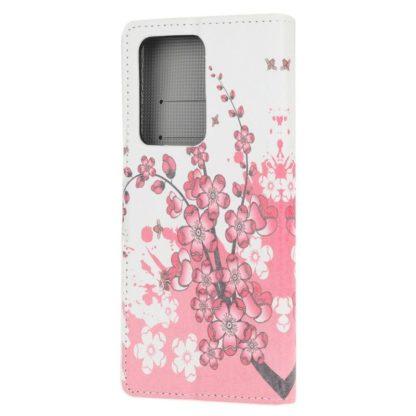 Plånboksfodral Samsung Galaxy A72 - Körsbärsblommor
