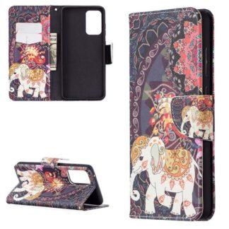 Plånboksfodral Samsung Galaxy A72 – Indiskt / Elefant