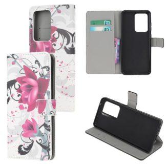 Plånboksfodral Samsung Galaxy A72 - Lotus