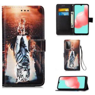 Plånboksfodral Samsung Galaxy A72 – Reflektion