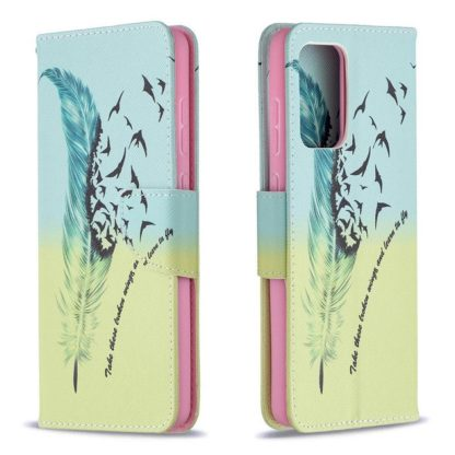 Plånboksfodral Samsung Galaxy A72 – Take These Broken Wings