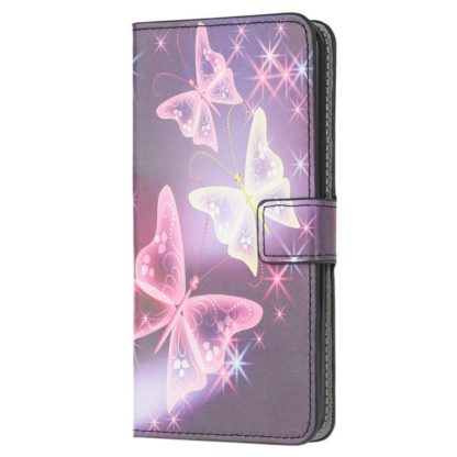 Plånboksfodral Xiaomi Mi 11 - Lila / Fjärilar