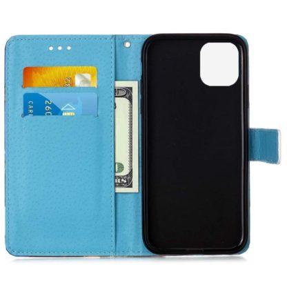 Plånboksfodral Xiaomi Mi 11 Lite – Blå Mandala
