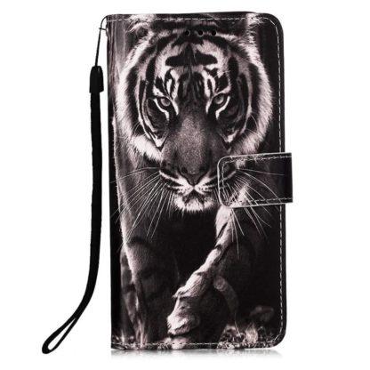 Plånboksfodral Samsung Galaxy A02s – Tiger