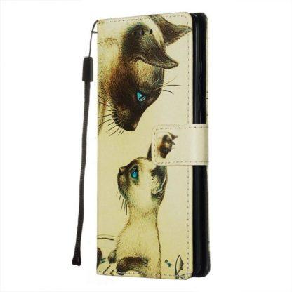 Plånboksfodral Samsung Galaxy A02s – Katter