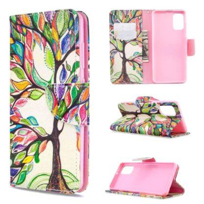 Plånboksfodral Samsung Galaxy A02s – Färgglatt Träd