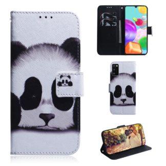 Plånboksfodral Samsung Galaxy A02s - Panda