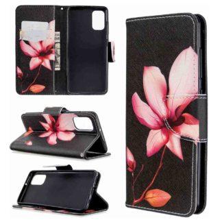 Plånboksfodral Samsung Galaxy A02s – Rosa Blomma