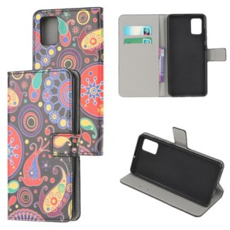 Plånboksfodral Samsung Galaxy A02s - Paisley