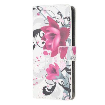 Plånboksfodral Samsung Galaxy A02s - Lotus