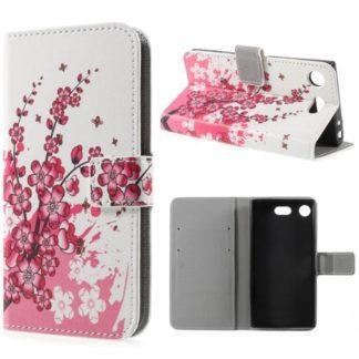 Plånboksfodral Sony Xperia XZ1 Compact - Körsbärsblommor