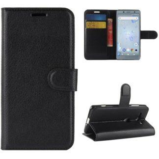 Plånboksfodral Sony Xperia XZ2 Compact - Svart