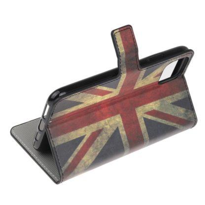 Plånboksfodral Apple iPhone 12 Pro - Flagga UK