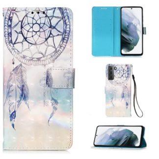 Plånboksfodral Samsung Galaxy S21 – Drömfångare Himmel